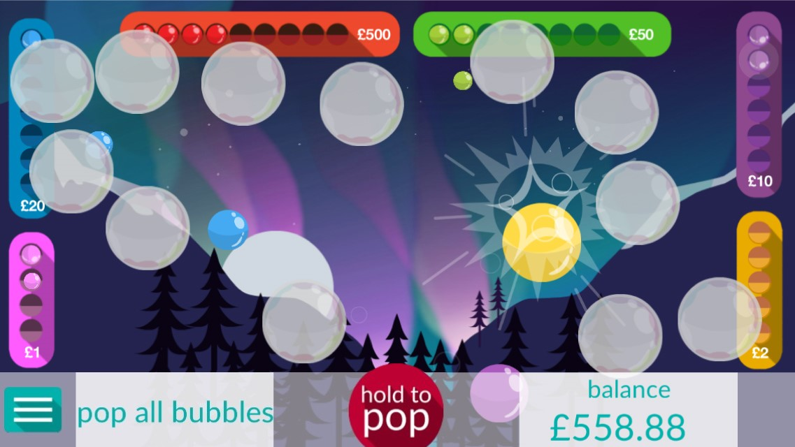 bubble arcade game