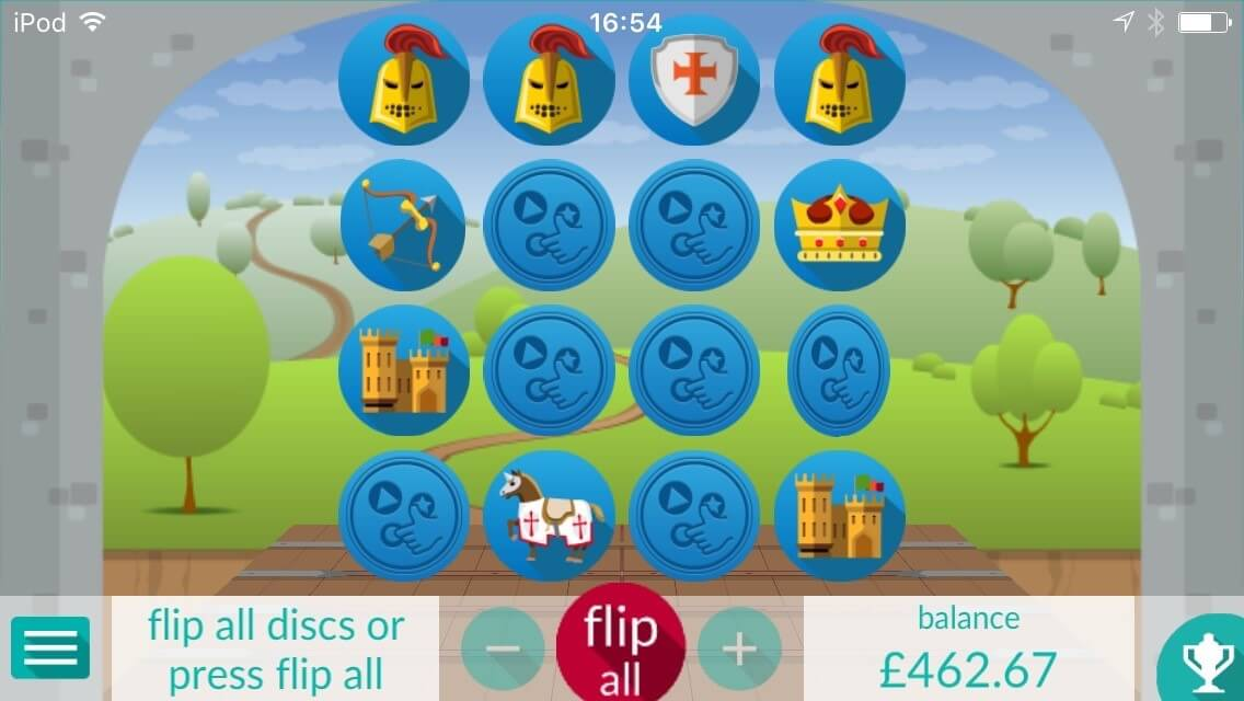 flip arcade game
