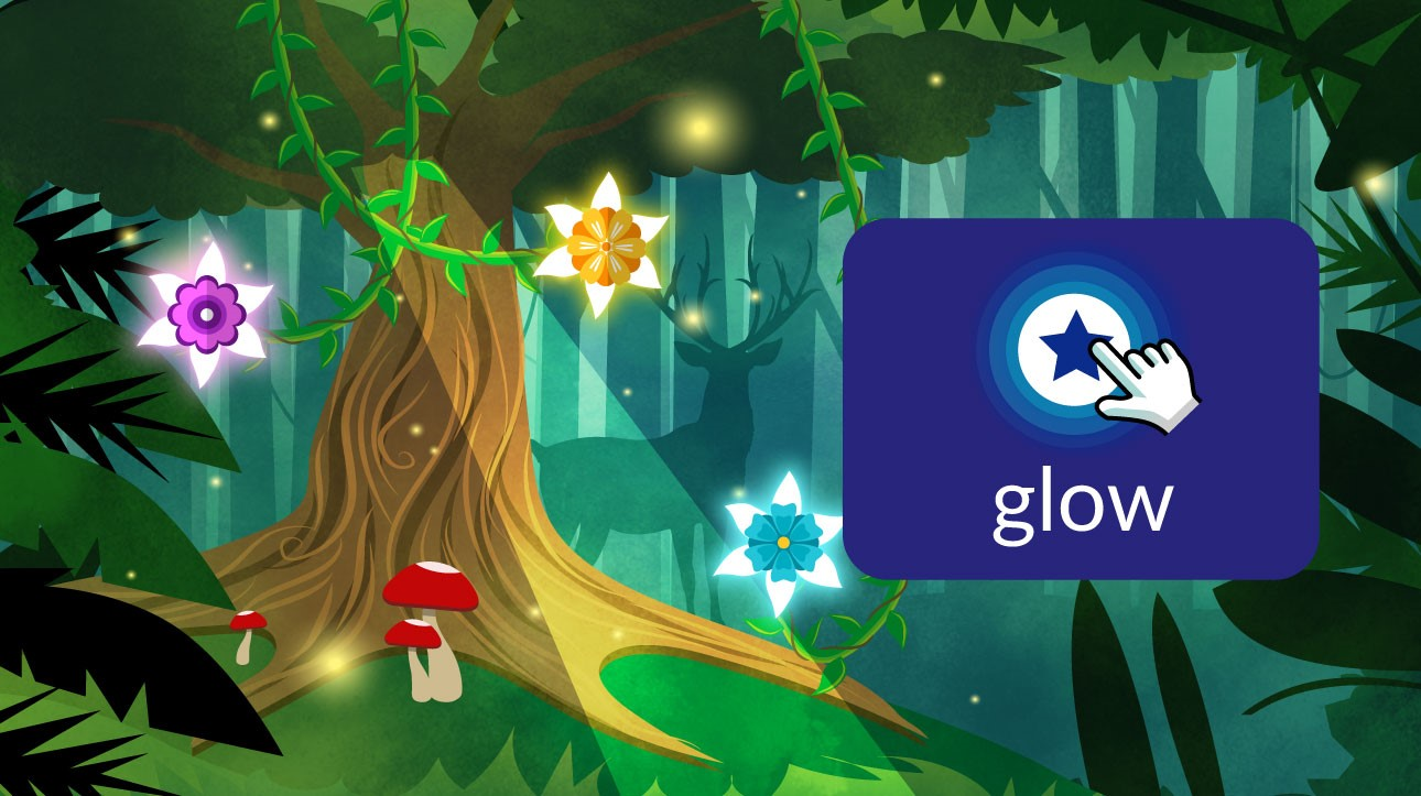 glow game launcher image