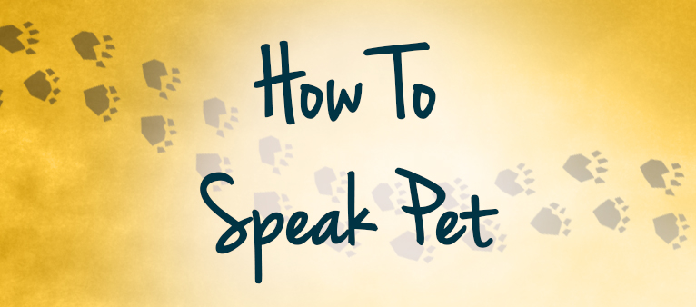 how to speak pet header