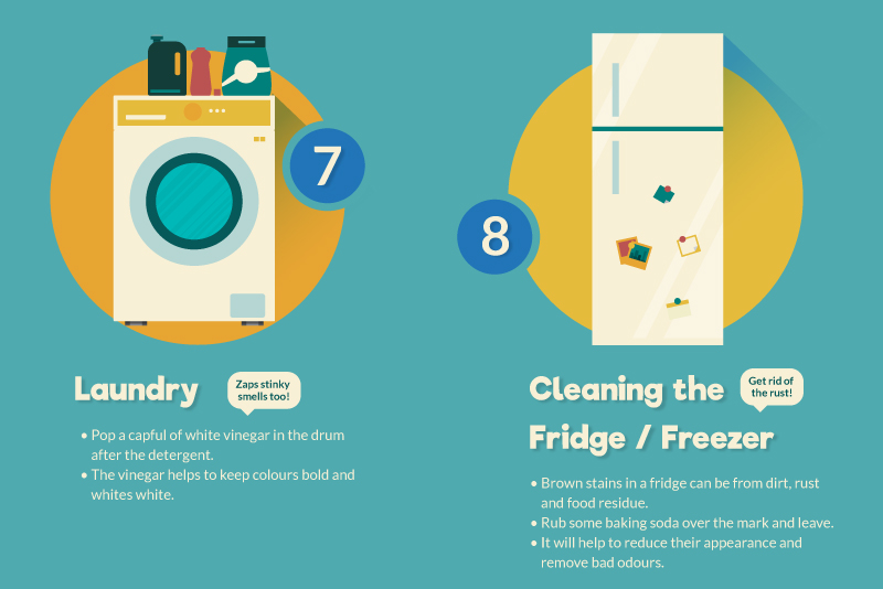 7 and 8 cleaning tips