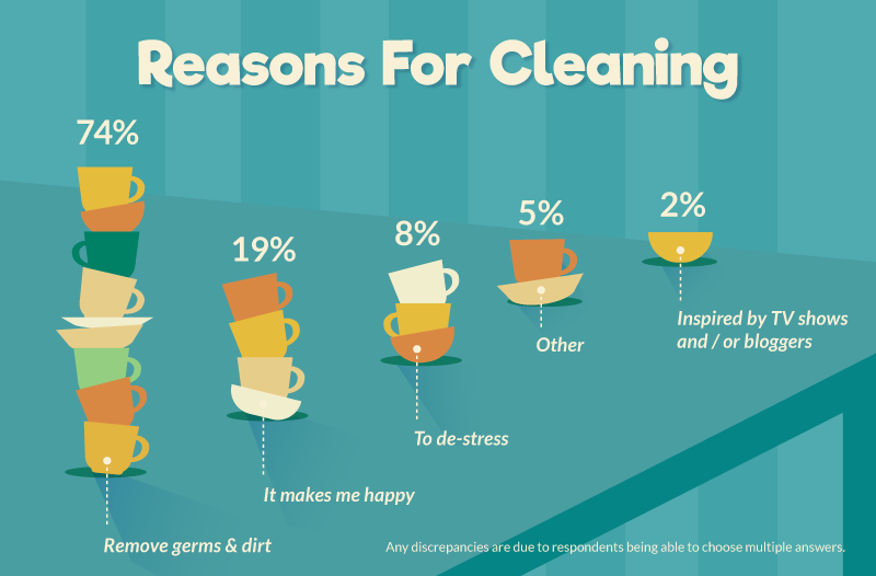 reasons for cleaning