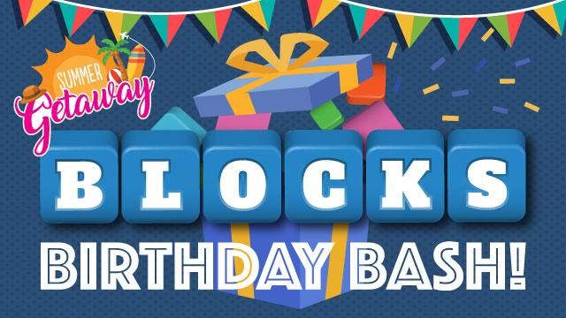 block birthday bash