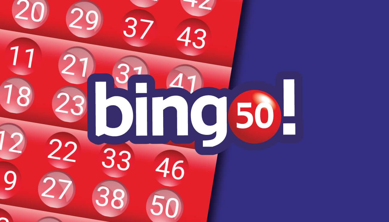 bingo50 game page