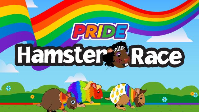 Pride Hamster Race!