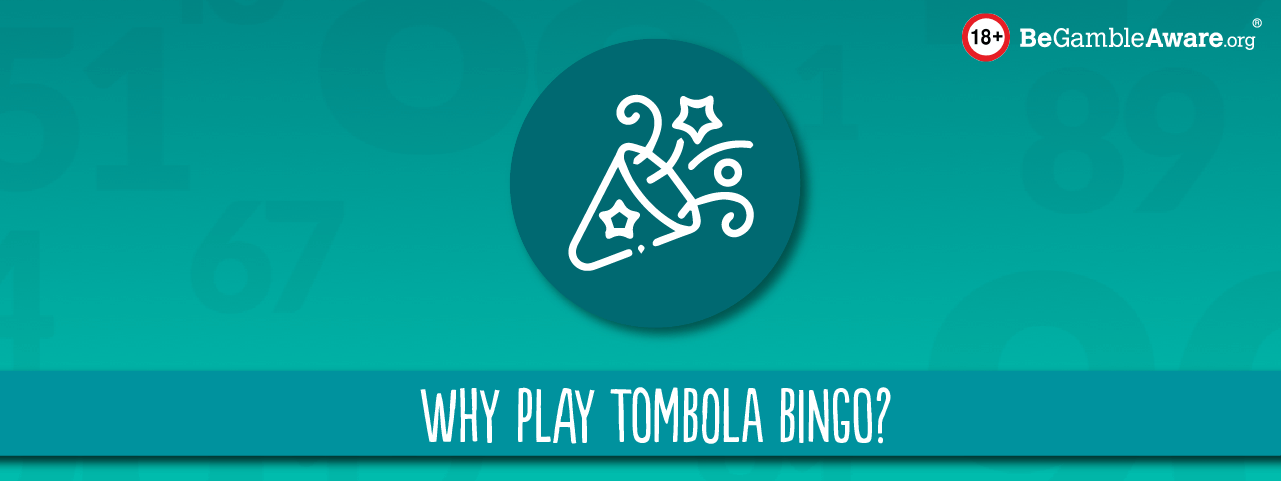 why play online bingo with tombola header