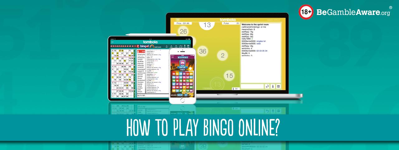 how to play bingo online header