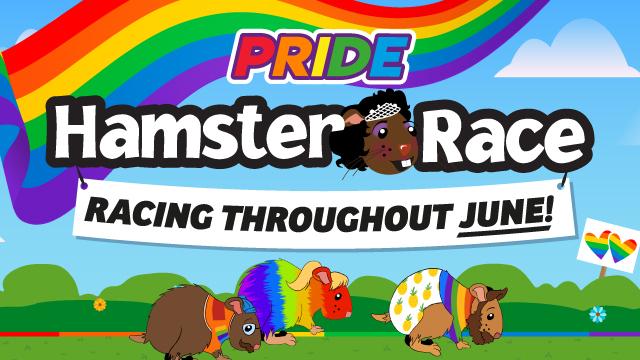 Pride Hamster Race
