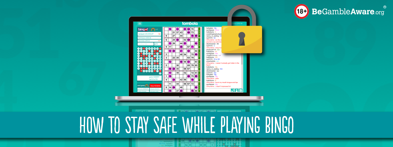how to stay safe while playing bingo header