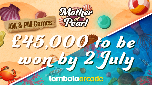tombola arcade - Mother of Pearl